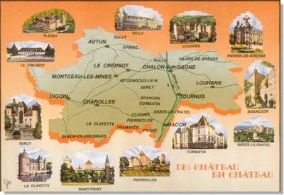De château en château, Bourgogne du Sud [Cliquer pour agrandir]