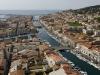 Vue de Sète et ses canaux