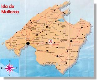 Carte de Mallorca