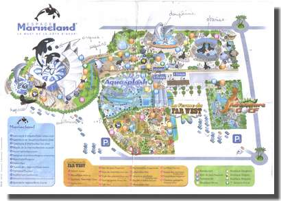 Plan de Marineland